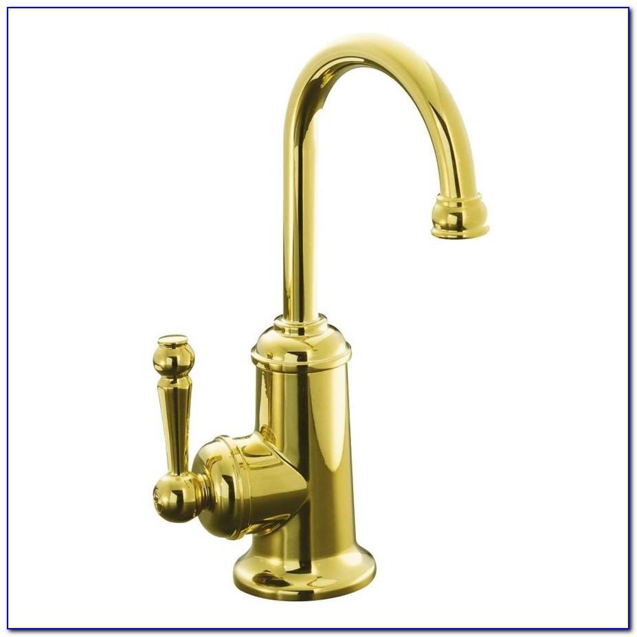 Polished Brass Kitchen Faucets Kohler