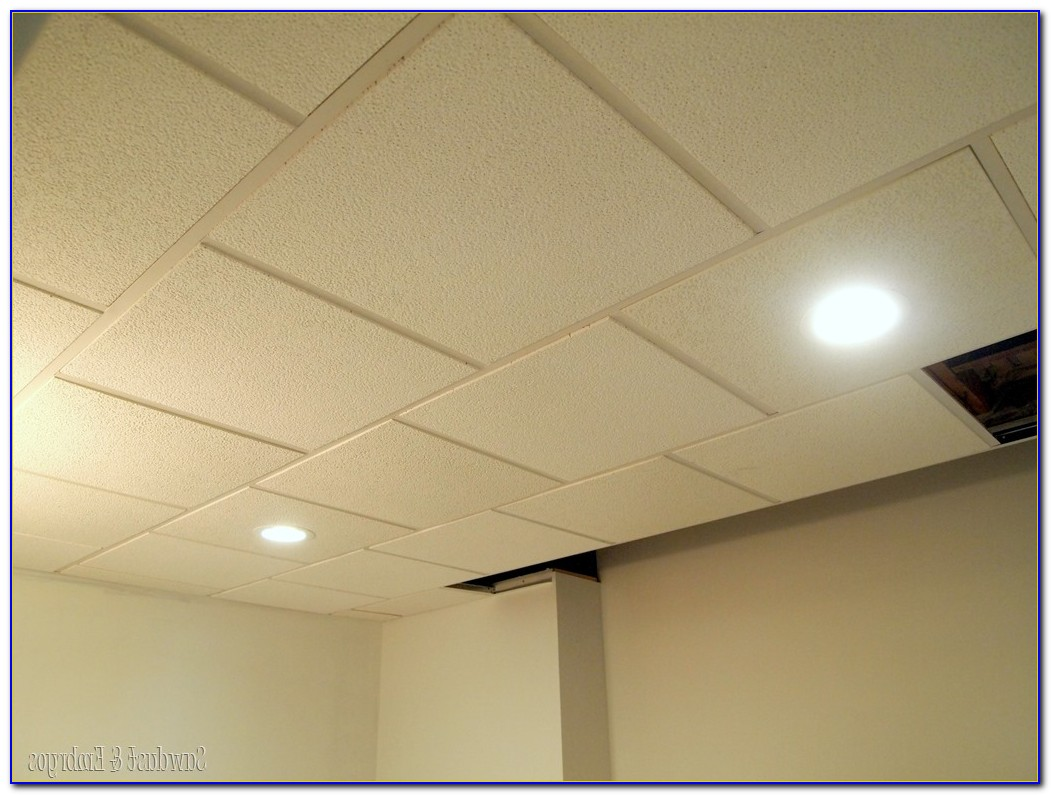 Recessed Drop Ceiling Tiles