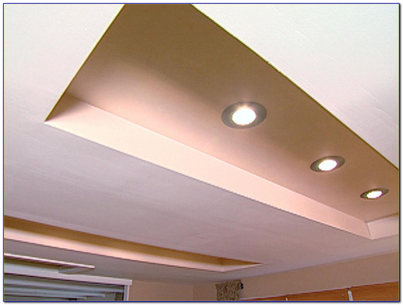 Recessed Lighting In Ceiling Panels