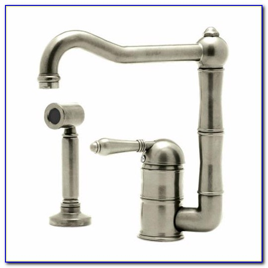 Rohl Country Kitchen Faucet With Side Spray
