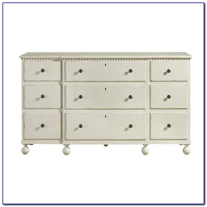 Sag Harbor White 9 Drawer Dresser