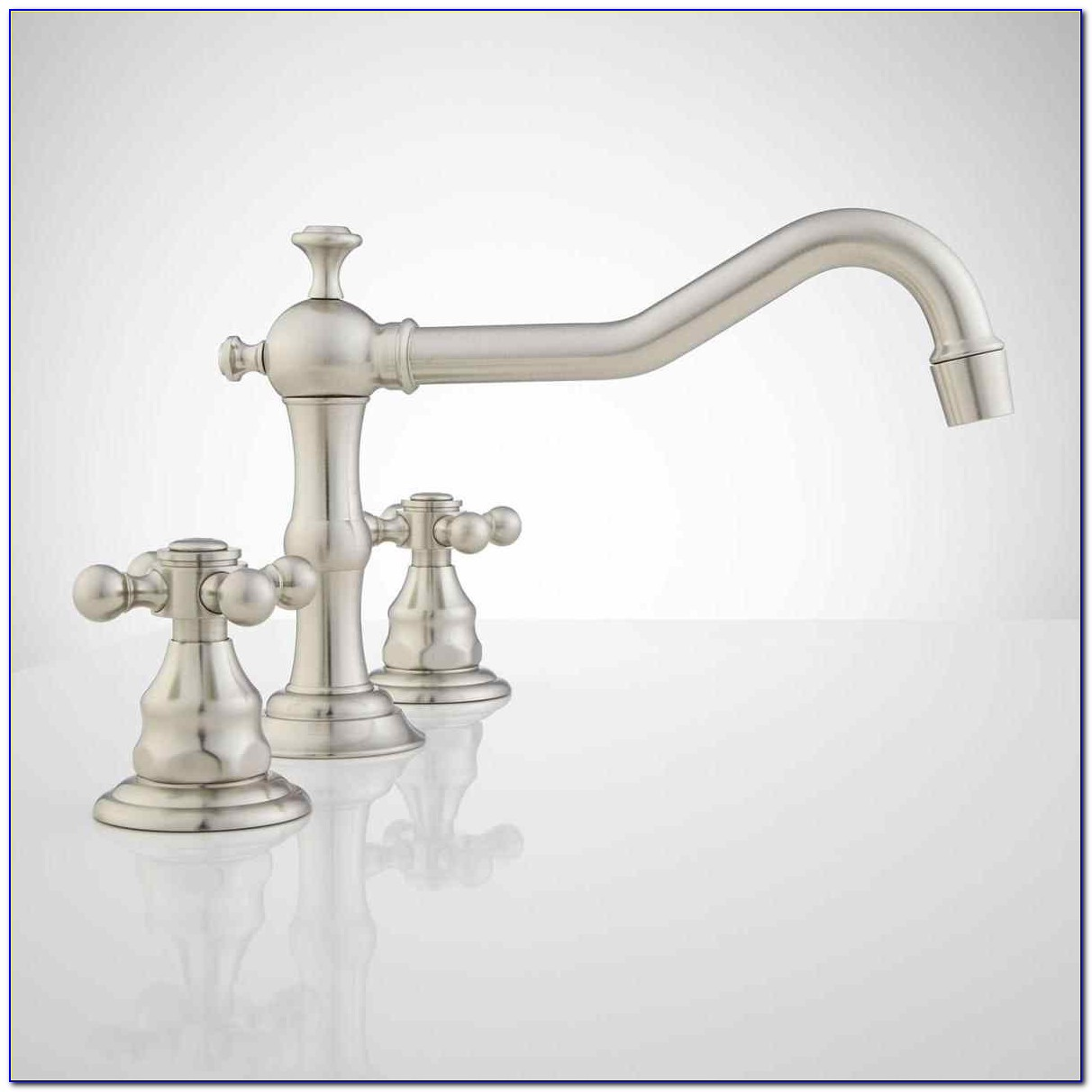 Satin Chrome Bathroom Faucets