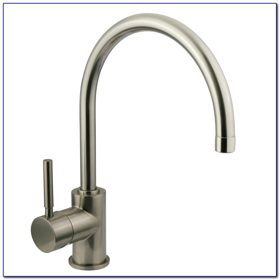 Satin Nickel Bathroom Faucets Single Hole