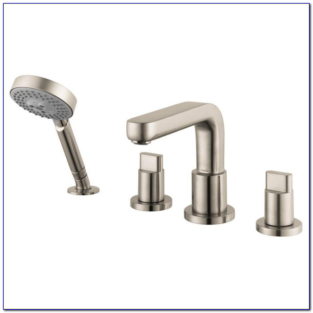 Satin Nickel Roman Tub Faucet