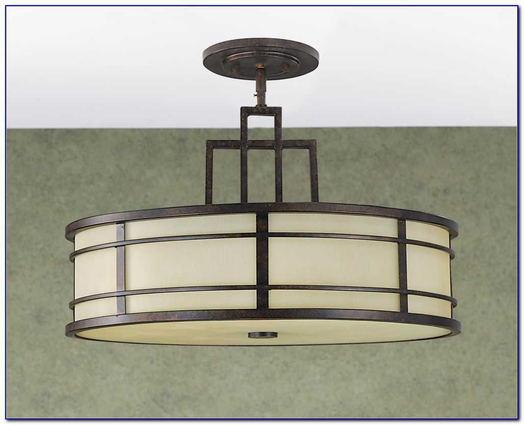 Semi Flush Mount Ceiling Lights For Bedroom