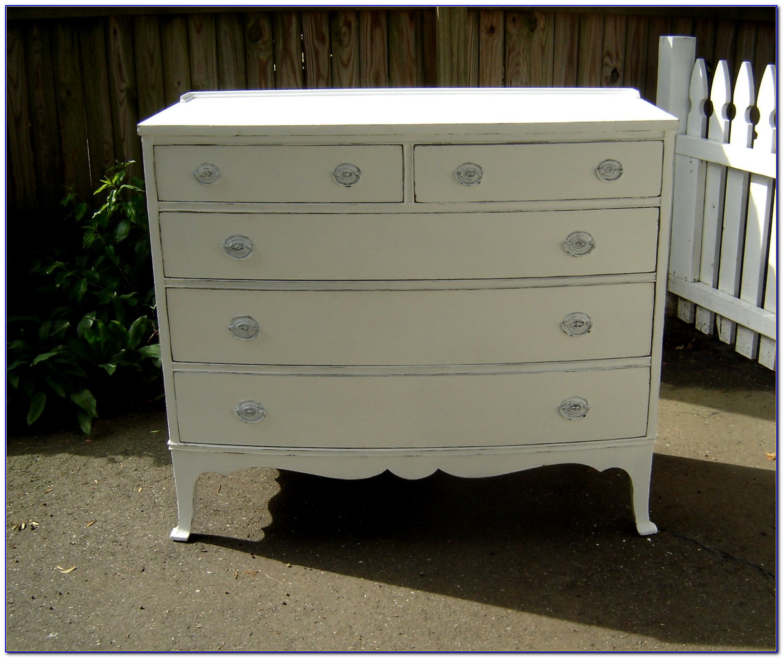 Shabby Chic Style White Dressers