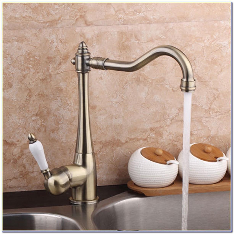 Single Basin Double Faucet Sink