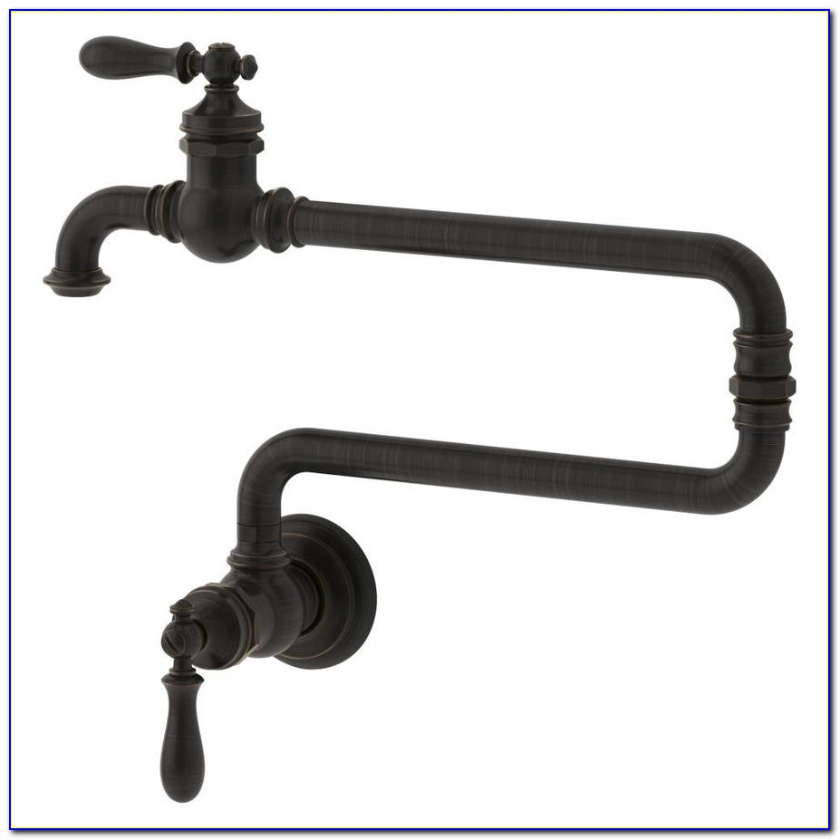 Single Handle Wall Mount Pot Filler Faucet