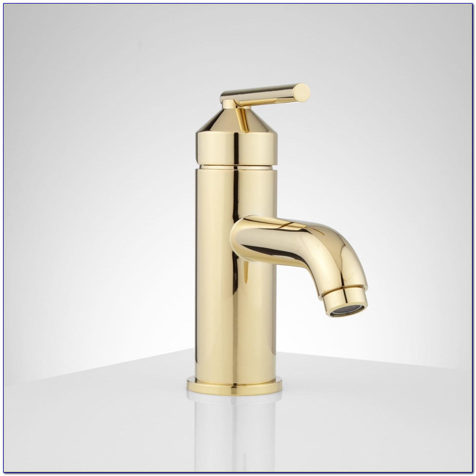 Single Hole Bathroom Faucet Brushed Nickel
