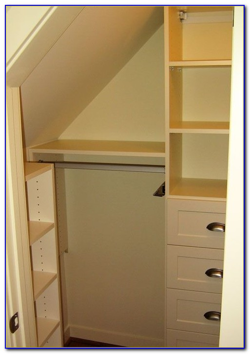 Small Closets With Slanted Ceilings