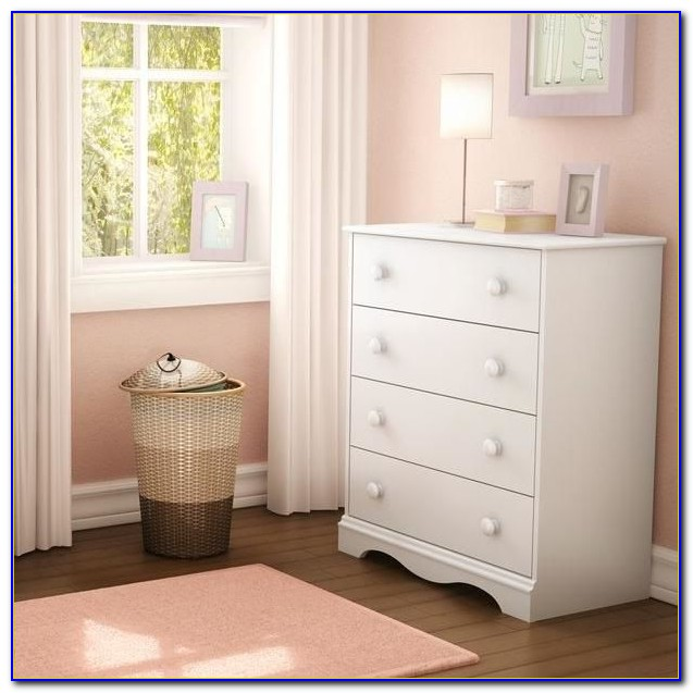 South Shore Libra Dresser Pure White
