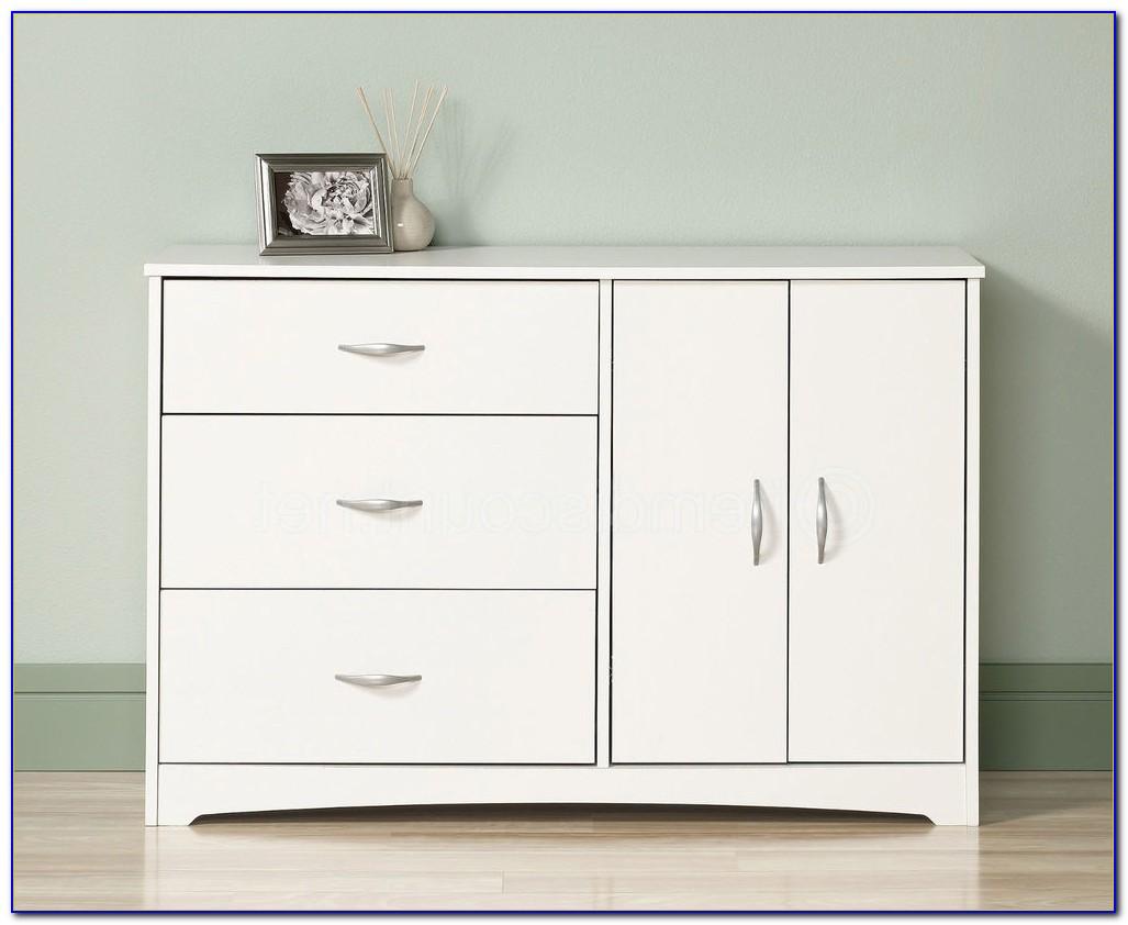 South Shore Vito 6 Drawer Dresser White