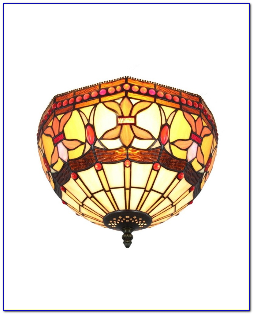 Stained Glass Ceiling Lights Uk