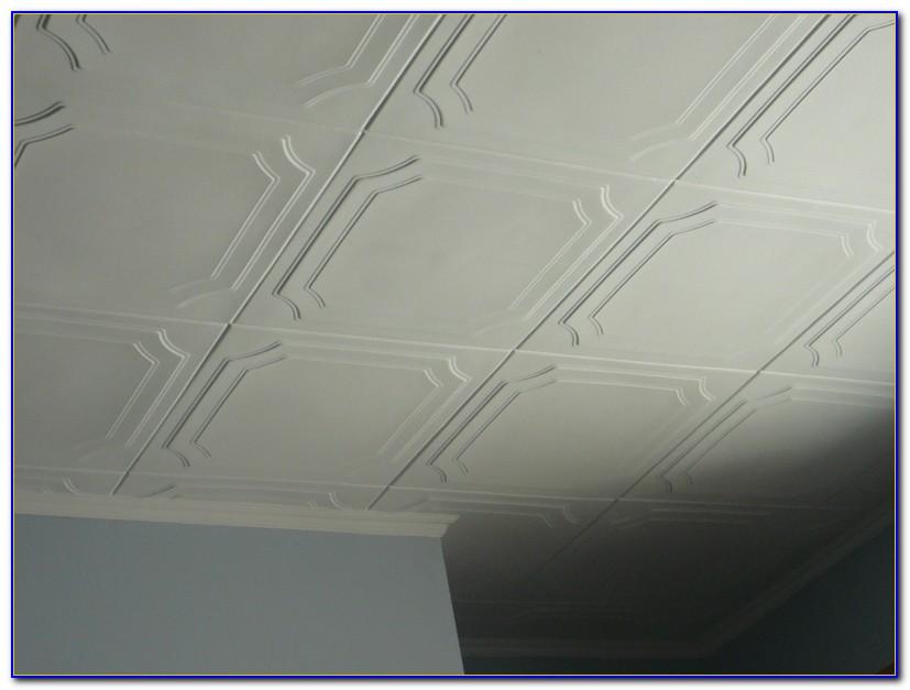 Styrofoam Faux Tin Ceiling Tiles
