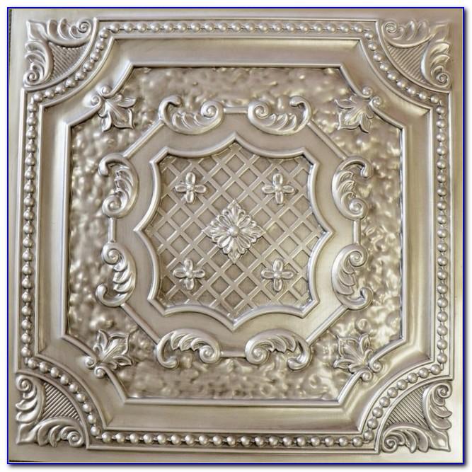 Tin Tile Ceiling Wallpaper