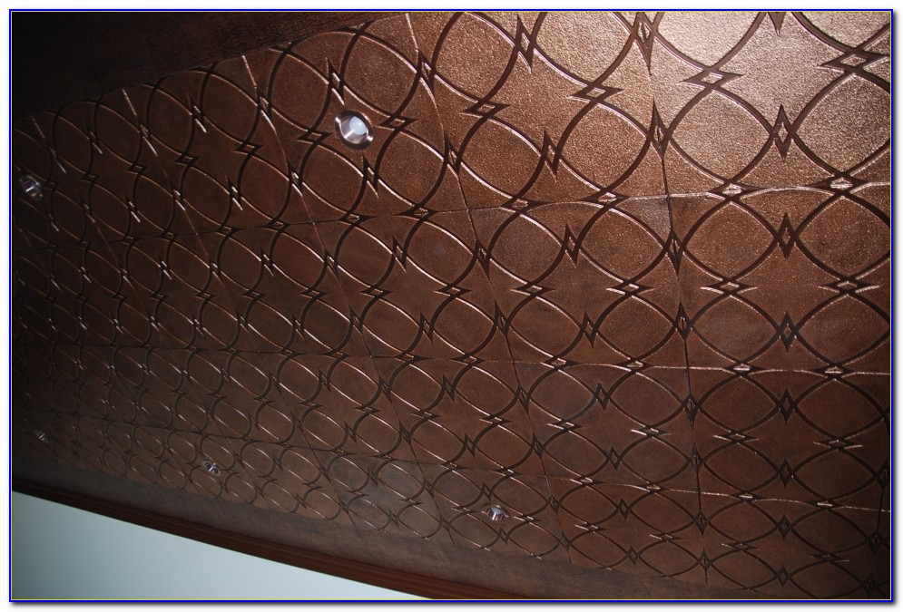 Tin Tiles For Ceiling Faux