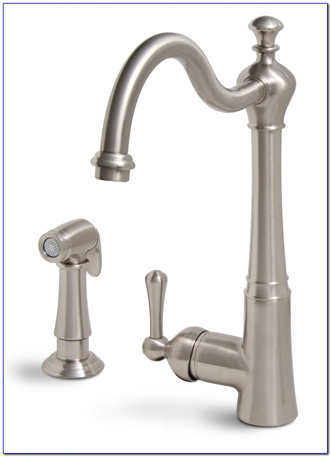 Touchless Kitchen Faucet Brushed Nickel