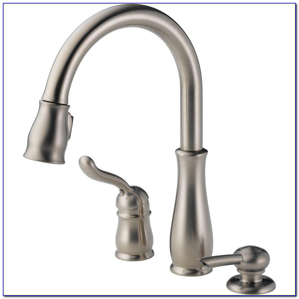 Touchless Kitchen Faucet With Soap Dispenser
