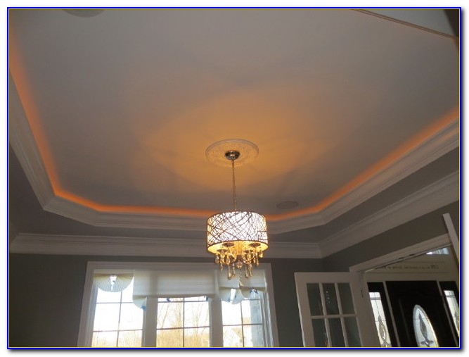 Tray Ceiling With Rope Lighting Photos