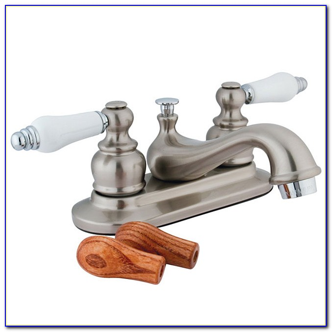 Two Tone Bathroom Sink Faucets