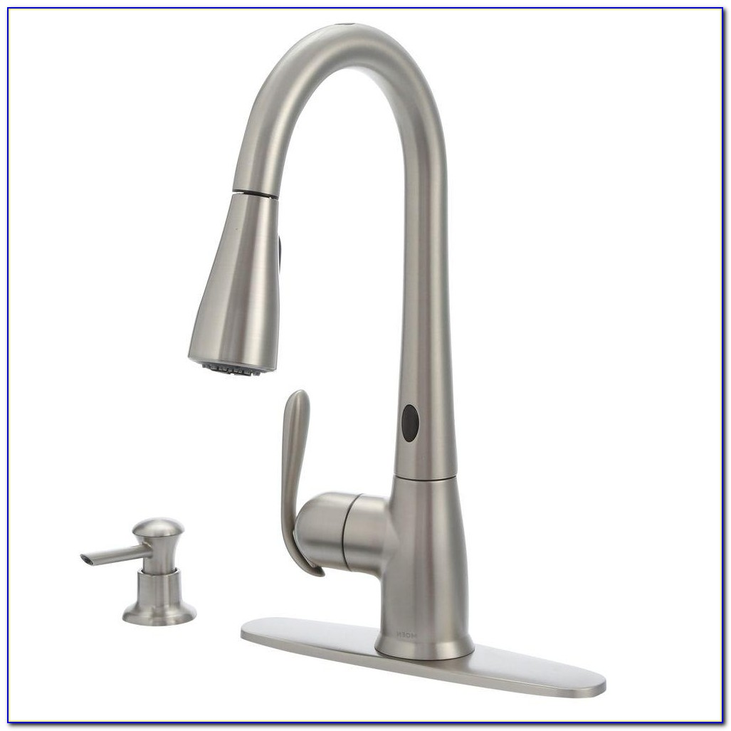 Types Of Moen Kitchen Faucets Types Of Moen Kitchen Faucets Moen Haysfield Single Handle Pull Down Sprayer Touchless Kitchen 1000 X 1000