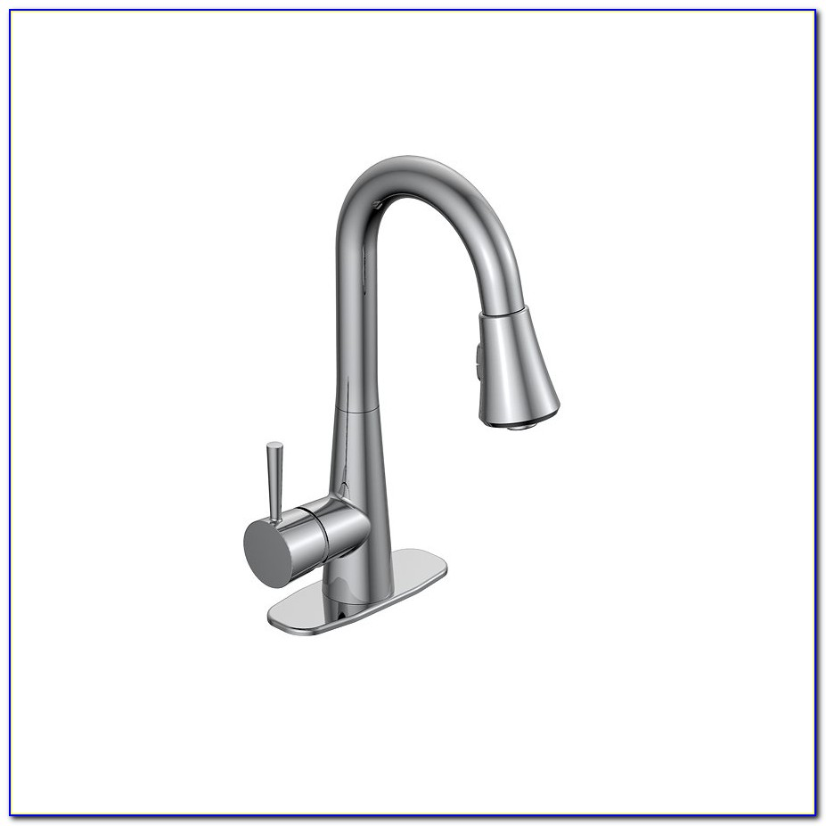 Utility Sink Faucet With Sprayer Wall Mount