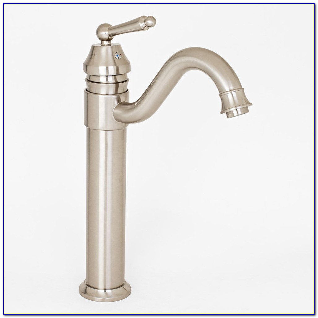 Vessel Faucet Brushed Nickel