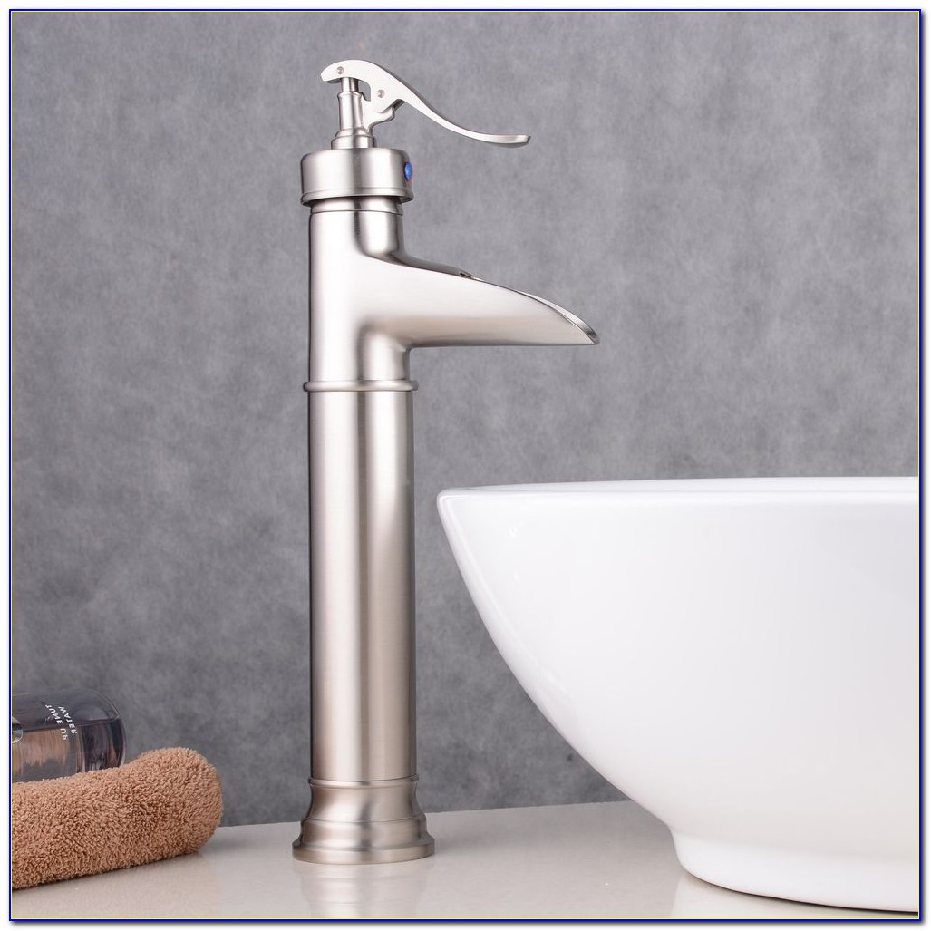 Vessel Filler Faucet Brushed Nickel