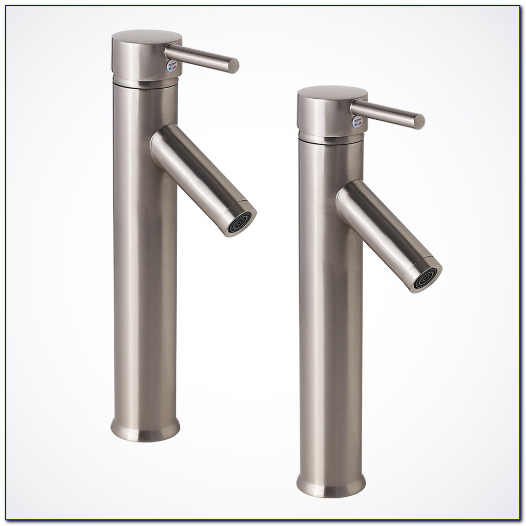 Vessel Sink Faucet Brushed Nickel