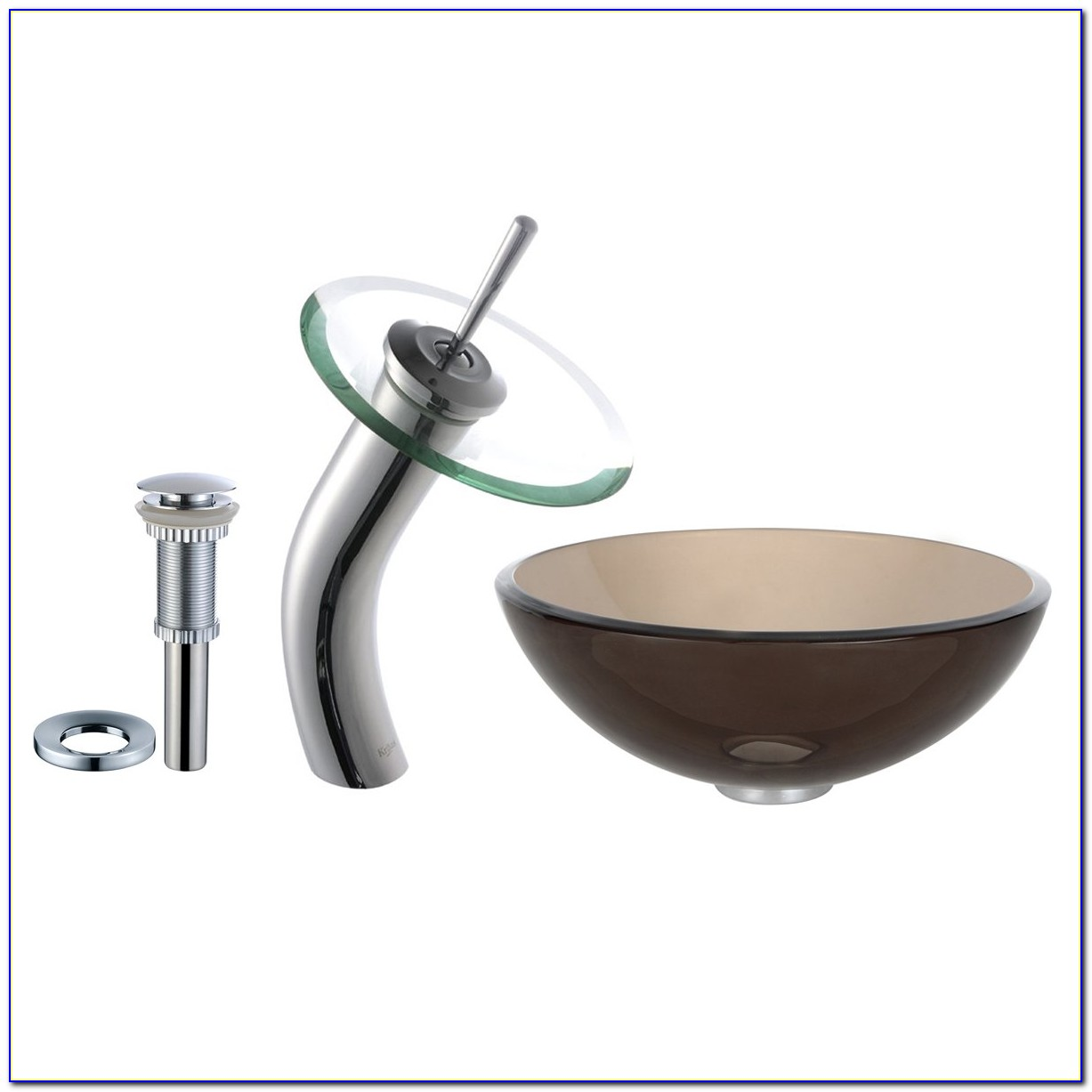 Vessel Sink With Faucet Combo