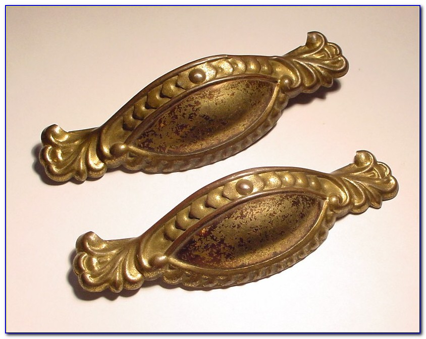 Vintage Furniture Hardware Drawer Pulls