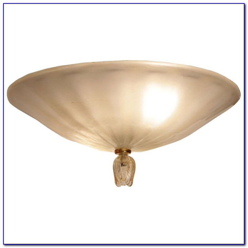 Vintage Murano Glass Ceiling Light