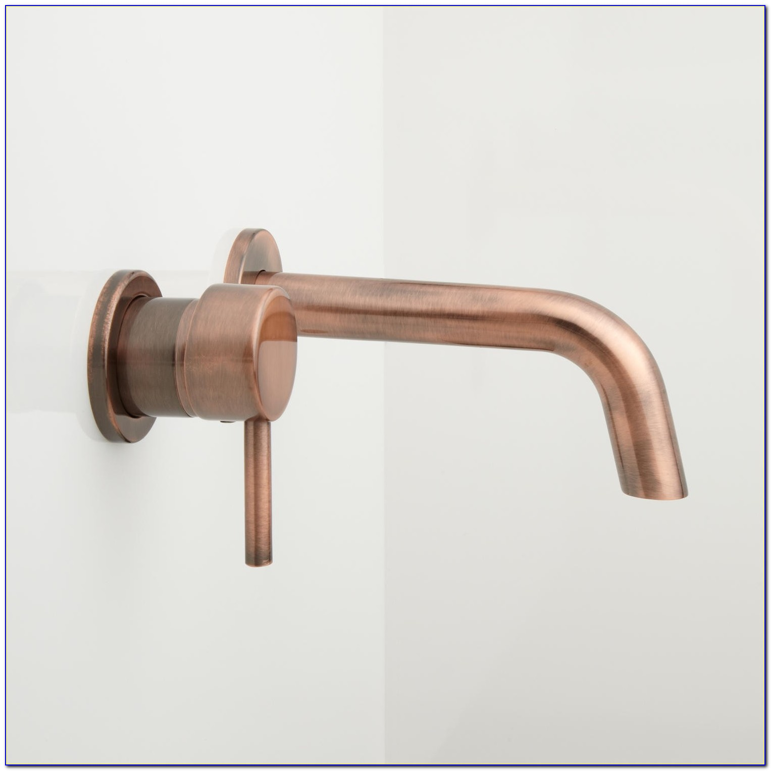 Wall Mount Bathroom Sink Faucet Bronze
