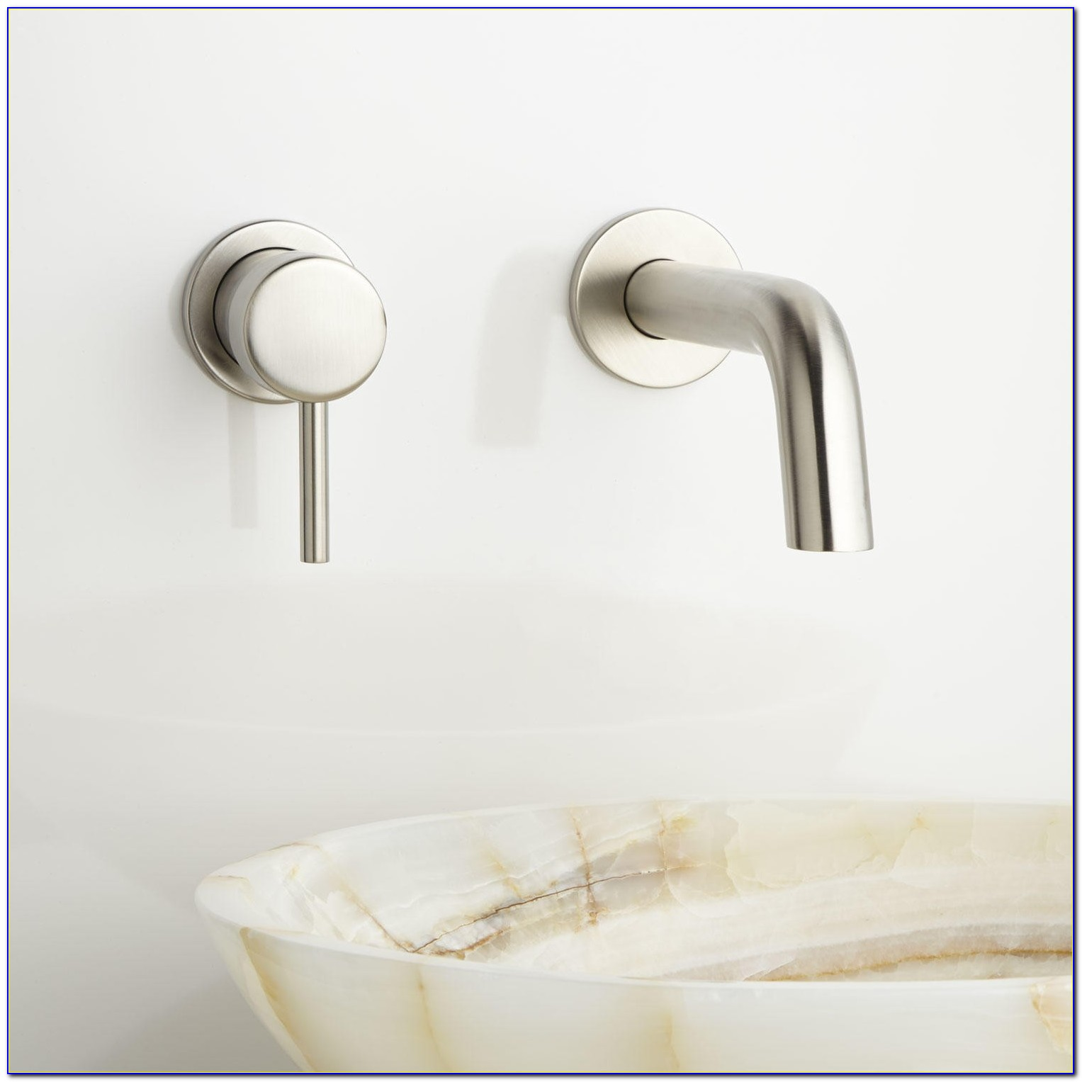 Wall Mount Bathroom Sink Faucet Installation
