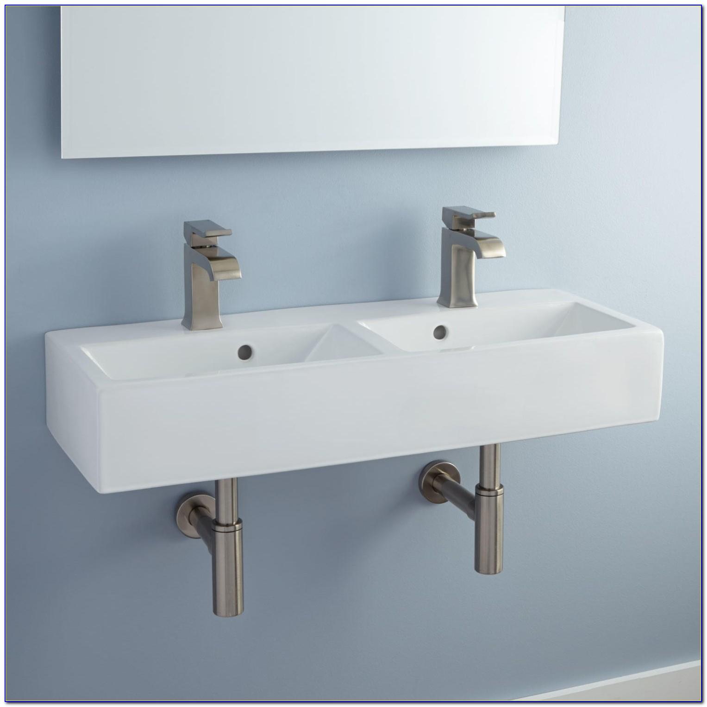 Wall Mount Bathroom Sink Hardware