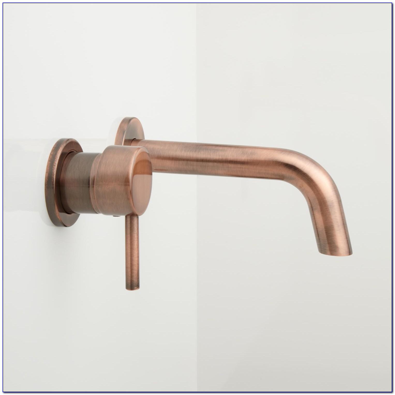 Wall Mount Bathtub Faucet Brushed Nickel