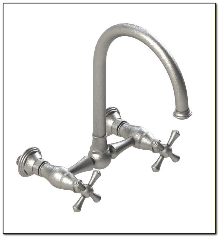 Wall Mount Bridge Faucet Kitchen