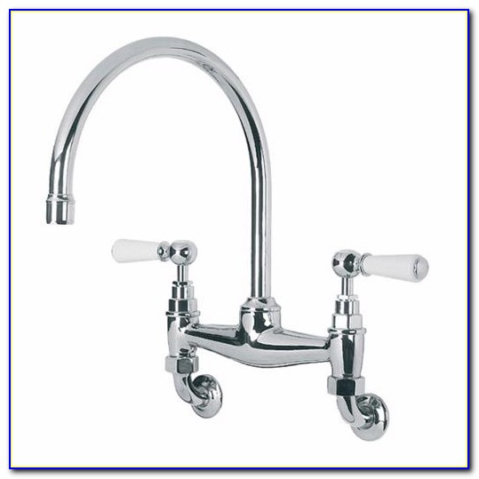 Wall Mount Kitchen Faucet With Pull Down Sprayer