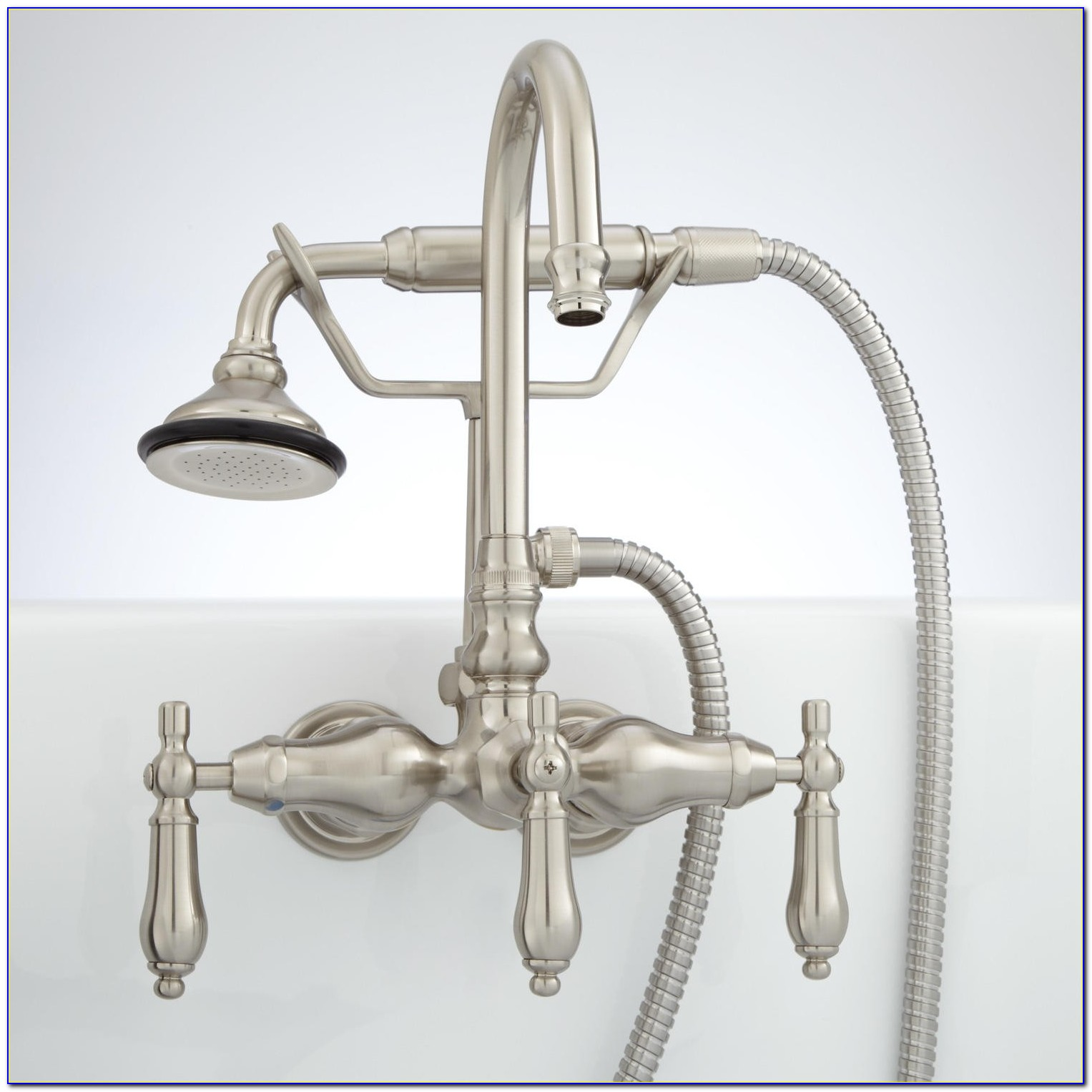 Wall Mount Kitchen Faucet With Sprayer India
