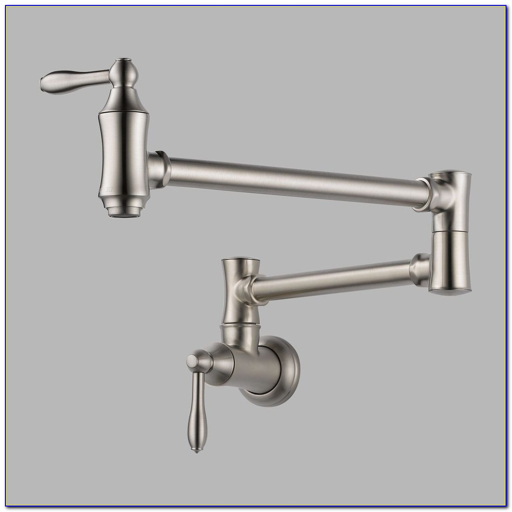 Wall Mount Pot Filler Faucet Installation