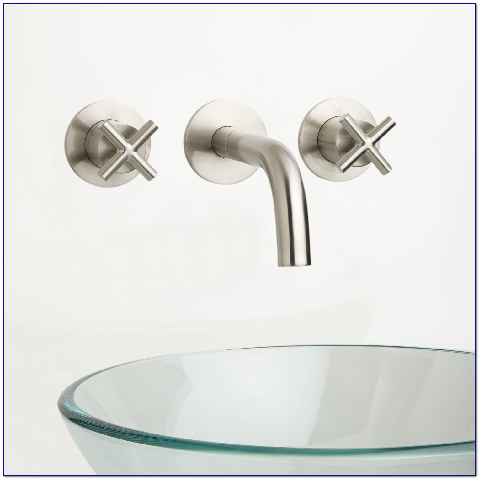 Wall Mount Sink Faucet Bathroom