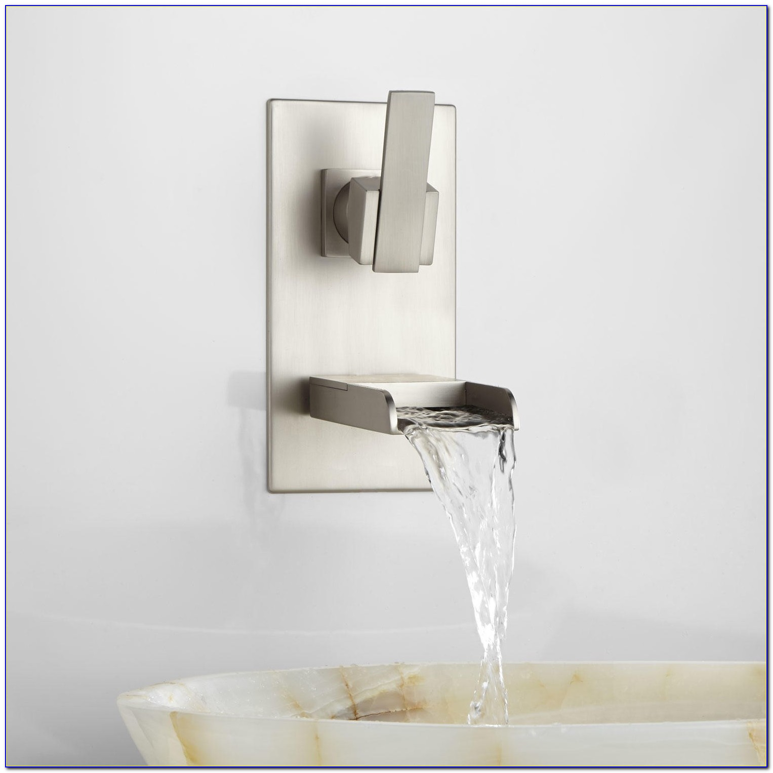 Wall Mounted Sink Faucet Bathroom