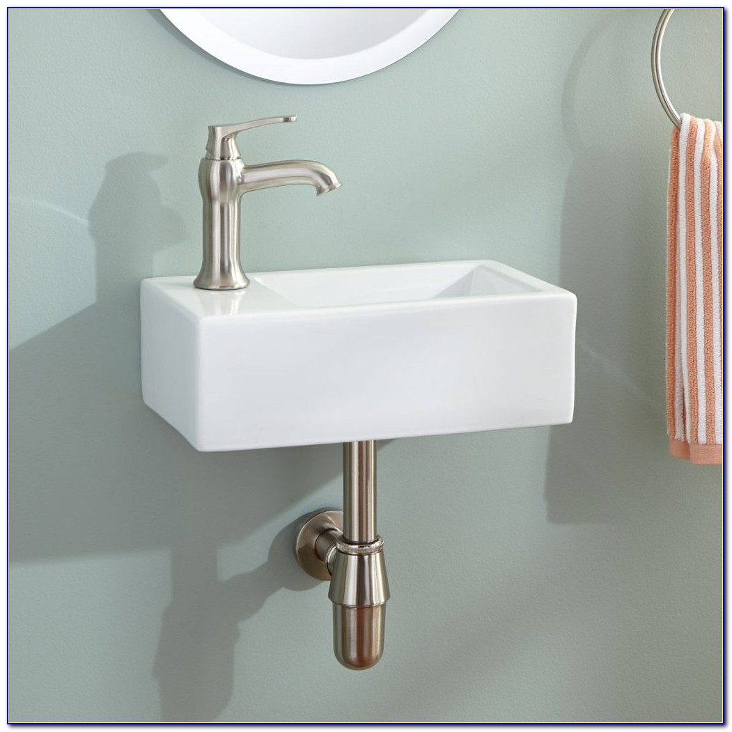 Wall Mounted Sink Faucets
