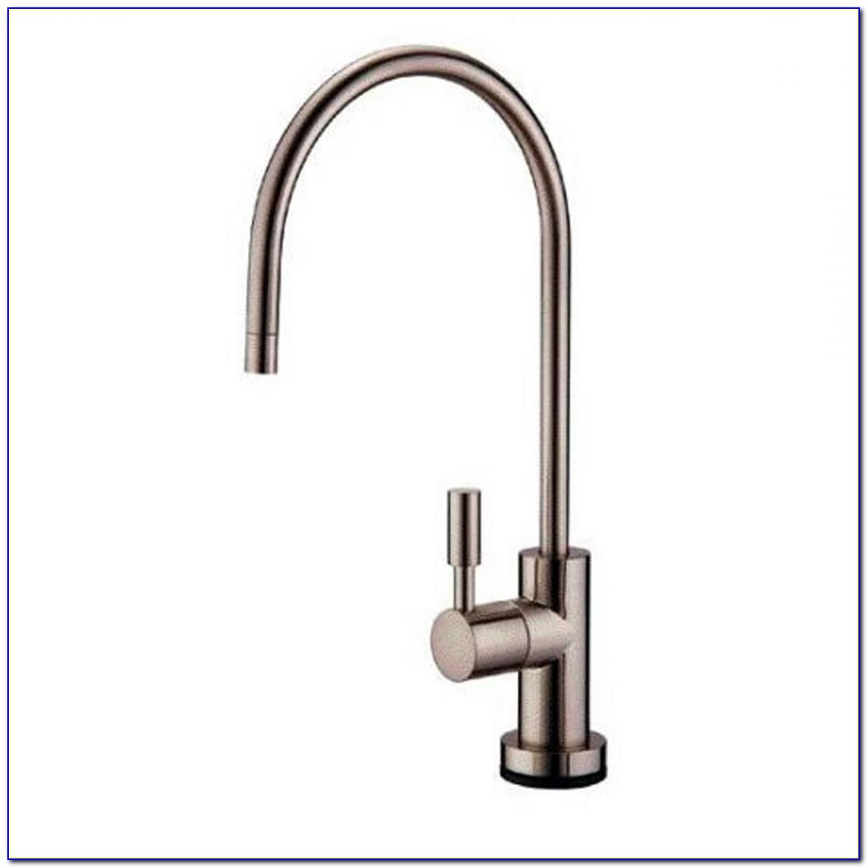 Water Filter Faucet Satin Nickel