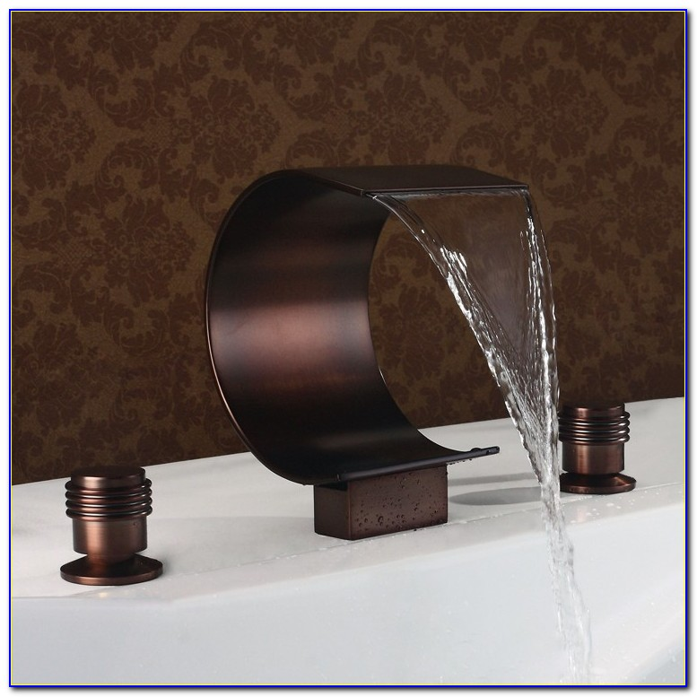 Waterfall Bathroom Faucet Oil Rubbed Bronze