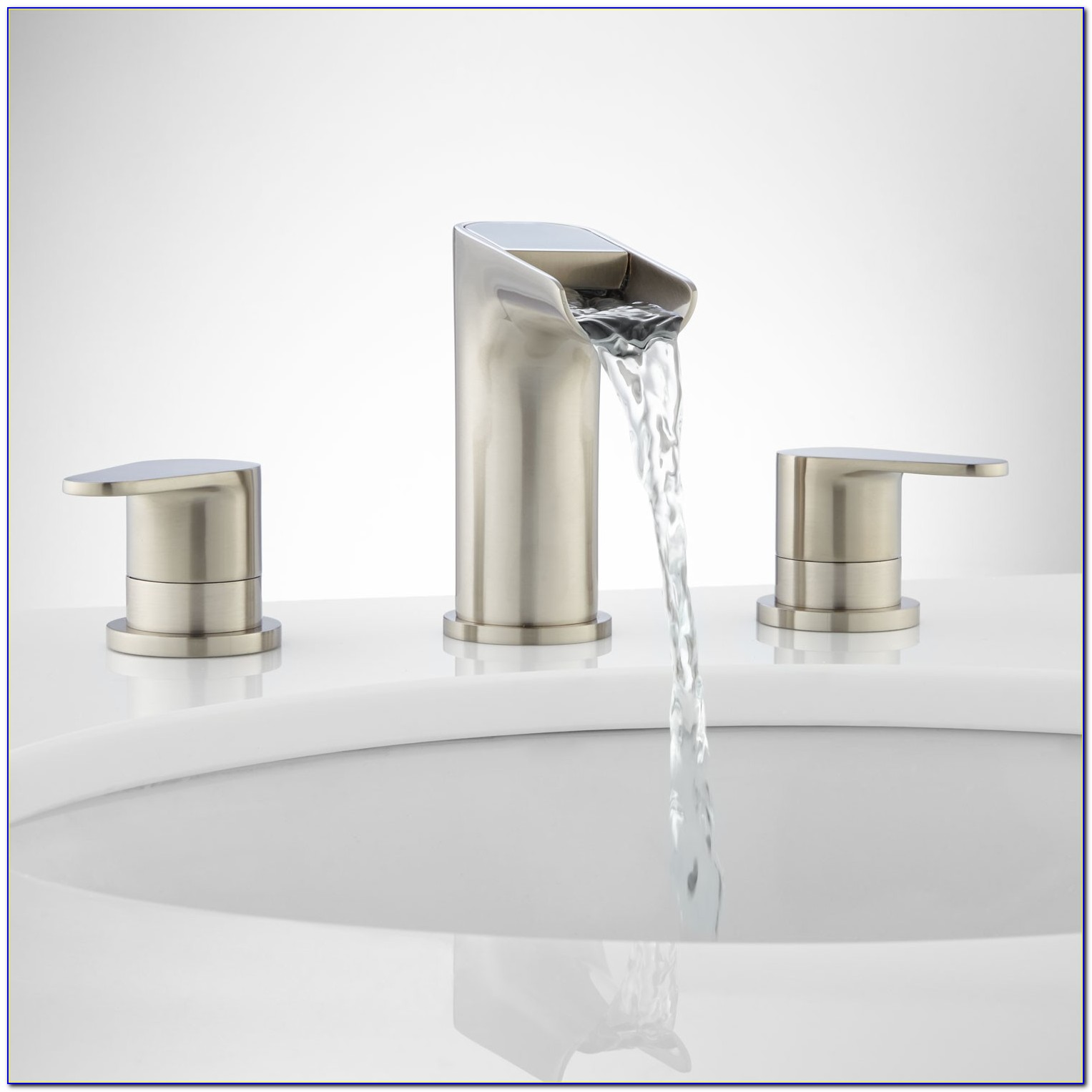 Waterfall Faucet For Bathroom Sink