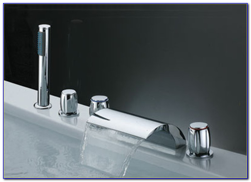 Waterfall Faucet For Freestanding Tub