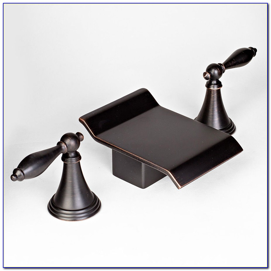 Waterfall Roman Tub Faucet Oil Rubbed Bronze