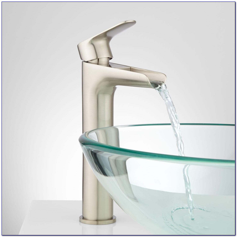 Waterfall Vessel Sink Faucets