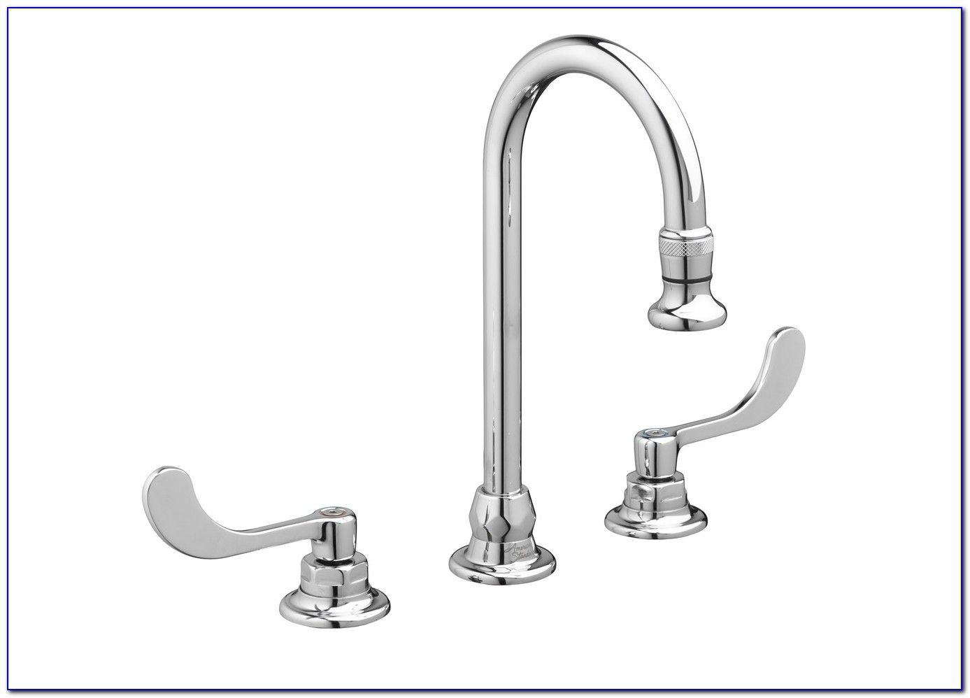 White Kitchen Faucet 3 Hole